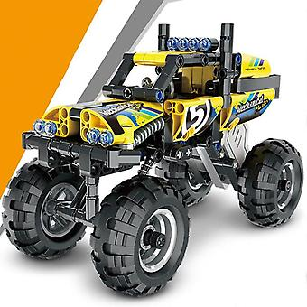 Racing Model Building Blocks Motor Pull Back Racing Champion Children's Building Blocks Boy Gift