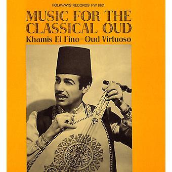 Khamis El Fino Ali - música para la importación de los E.e.u.u. clásico Oud [CD]