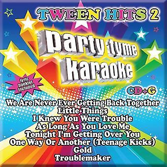 Party Tyme Karaoke - Tween Hits 2 [CD] USA import