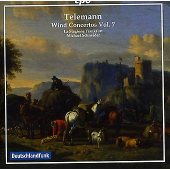 G.P. Telemann - Telemann: Concertos de vent, importation USA Vol. 7 [CD]