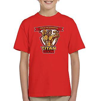 Titan Gym Attack On Titan Kid's T-Shirt