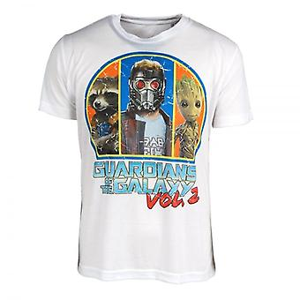Guardians of the Galaxy Guardians Of T Product Summary (Words: 0)he Galaxy Vol. 2 Squad T Shirt White