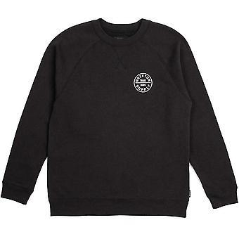 Brixton Oath Sweatshirt Black