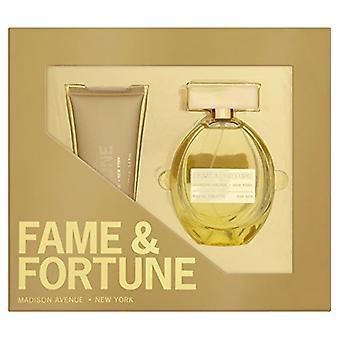 Fame & Fortune for Women Gift Set 100ml EDT + 100ml Body Lotion