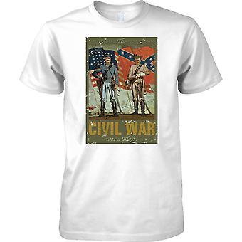 La guerra civil fue una camisa de los niños T Blast - Guerra Civil Americana-