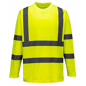 Portwest - Hi-Vis Workwear Long Sleeved Comfort T-Shirt
