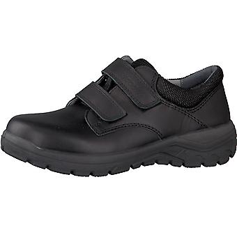 Ricosta Boys Jack School Shoes Wide Fitting Black