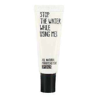 Opphøre vannet mens du bruker meg! Marokkanske Mint leppepomade 10ml