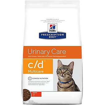 Hill's Prescription Diet c/d Urinary Care Chicken (Cats , Cat Food , Dry Food)