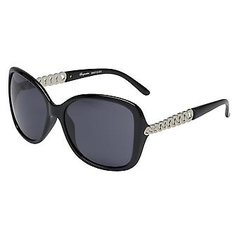 Elegant sunglasses for women by Burgmeister with 100% UV protection | solid polycarbonate frame, high quality sunglasses case, microfiber glasses pouch and 2 years warranty | SBM112-331 Kopenhagen