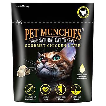 Pet Munchies 100% Natural Chicken Liver Treats for Cat
