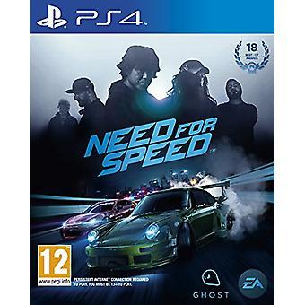 Need for Speed (PS4)-nytt