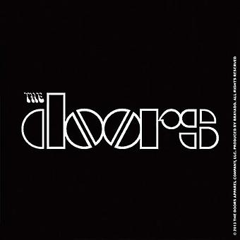The Doors Coaster band Logo new Official 9.5cm x 9.5cm single cork