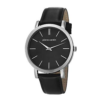 Pierre Cardin reloj reloj de pulsera de cuero de Bonne Nouvelle PC106511F02
