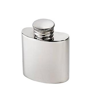 1Oz Plain Small Pewter Purse Flask