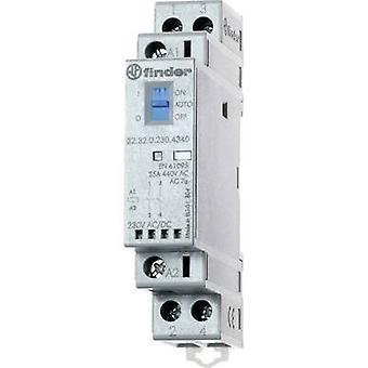 Finder 22.32.0.230.1440 Contactor 2 breakers 230 V DC, 230 V AC 25 A 1 pc(s)