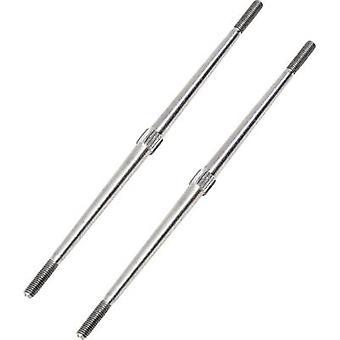 Spoleagtig aluminiumrorarm Længde: 100 mm 1 stk.