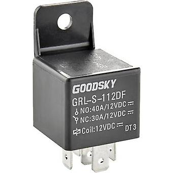 GoodSky GRL-S-124DF Automotive relay 24 Vdc 40 A 1 change-over