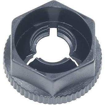 PB قفل KN50 المكونات في الجوز الأسود (Ø س ح) 11.7 ملم × 5.8 مم