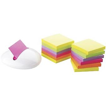 3M Sticky note dispenser 7000033983 No. of sheets (max.): 100 sheets Assorted colours Box colour: White