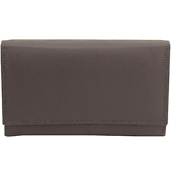 Friedrich leather purse LADIES LINE nappa leather taupe RFID protection