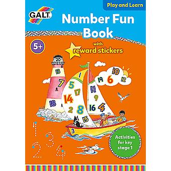 Galt Home Learning Books Number Fun with Reward Stickers