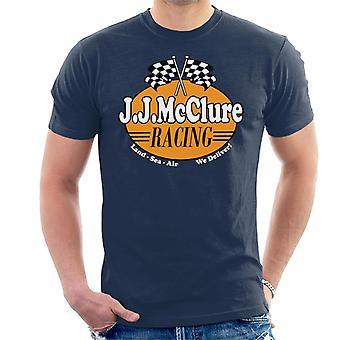 Burt Reynolds JJ McClure Racing Cannonball Run Men's T-Shirt