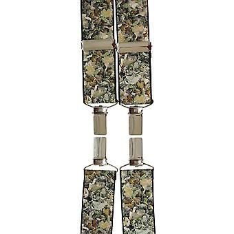 David Van Hagen Camouflage à motifs croisillons - Brown
