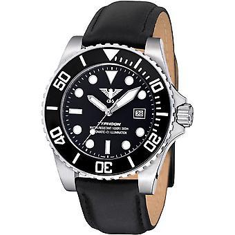 KHS heren horloge KHS. TYSA. L automatisch, het horloge van de duiker
