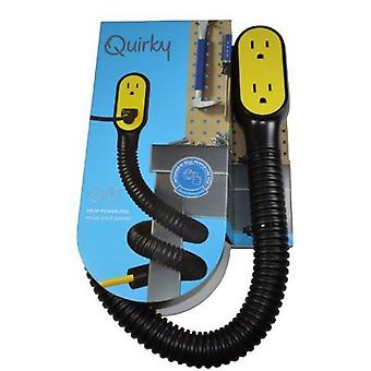 Quirky Prop Power Pro Wrap Around 9-Foot Extension Cord (3 plugs) with flexi