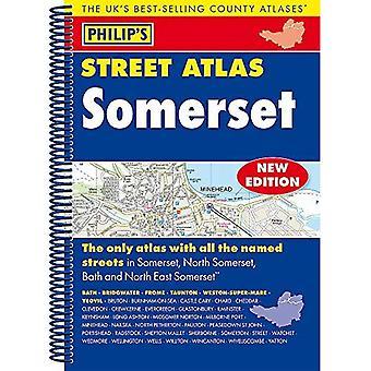 Somerset Street Atlas Filipa: spirala Edition