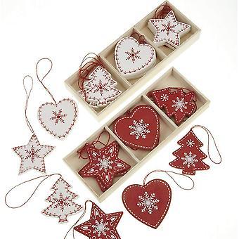 Céu envia as decorações de Natal Scandi