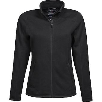 Tee Jays Womens/Ladies Knitted Outdoor Fleece Jacket