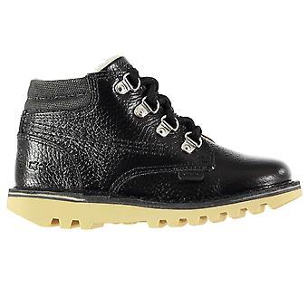 Kickers Kids Leather Boys Chukka Boots