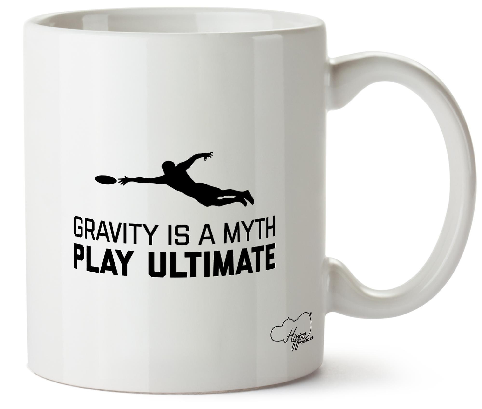 Hippowarehouse Gravity Is A Myth Play Ultimate Printed Mug Cup Ceramic 10oz