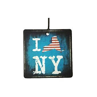 أنا أحب نيويورك إمباير ستيت سيارة معطرات الجو