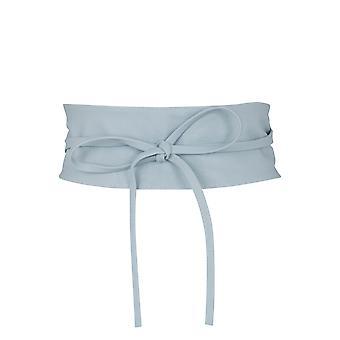 KRISP mujeres suave PU faux cuero Self Tie Wrap Around Obi Waist Band Cinch Boho Belt
