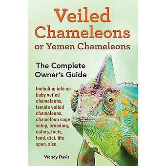 Veiled Chameleons or Yemen Chameleons as pets. info on baby veiled chameleons female veiled chameleons chameleon cage setup breeding colors facts food diet life span size. by Davis & Wendy