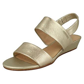Dames Clarks Slingback Strappy sandalen zin Lily