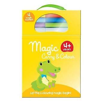Magic Carry and Colour - Yellow - 9789462444034 Book