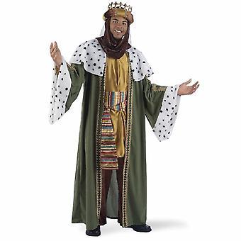 El disfraz de hombre del rey de los gaus traje del rey Baltazar hombres