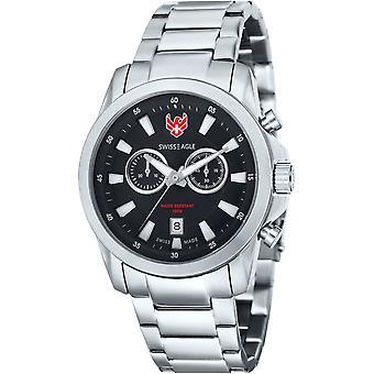 Swiss Eagle Zermatt SE-9055-11 Heren Horloge