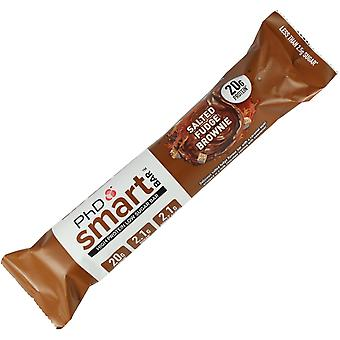 PHD NUTRITION SMART BAR SALTED FUDGE BROWNIE INDIVIDUAL BAR X1