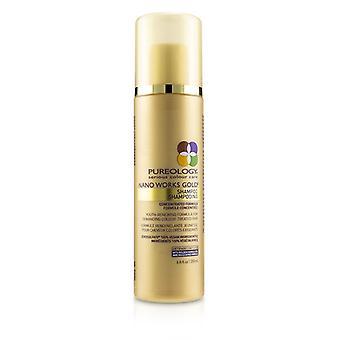 Pureology nano Works Gold shampoo (Youth-verzachtende formule voor veeleisende gekleurd haar)-200ml/6.8 oz