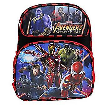 Small Backpack - Marvel Infinity War - Thanos Black/Red 12