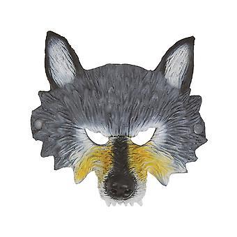 بريستول الجدة Unisex البالغين نصف الوجه قناع الذئب