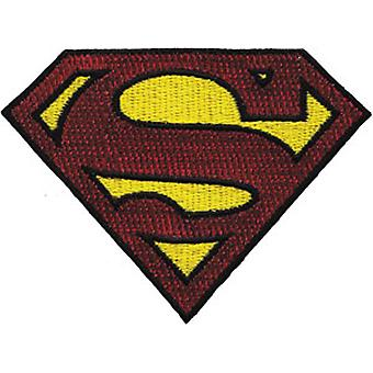 Patch - DC Comic - Superman - Glitter Logo Iron On Licensed p-dc-0025