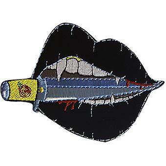 Patch - C&D - Chen Evelyn Black Dagger Lips New Gifts p-amb-0001
