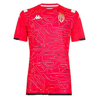 2019-2020 Monaco pre match training shirt (rood)