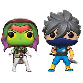 Marvel vs Capcom Infinite Gamora vs Strider US Pop! 2 Pk